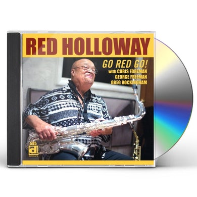 Red Holloway GO RED GO CD