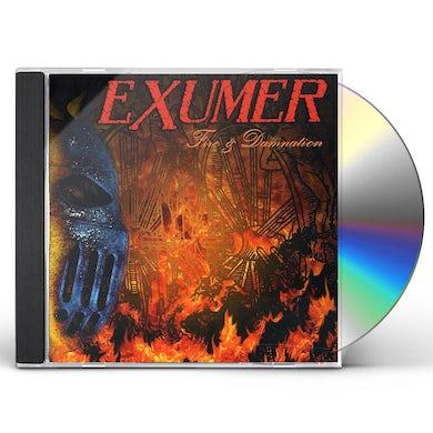 Exumer FIRE & DAMNATION CD