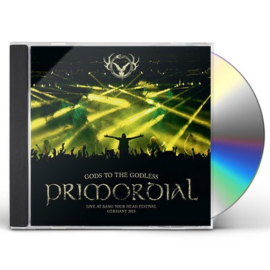 Primordial GODS TO THE GODLESS CD