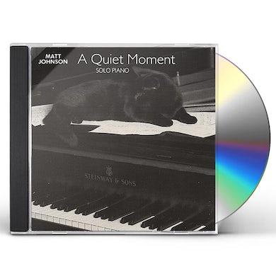Matt Johnson QUIET MOMENT CD