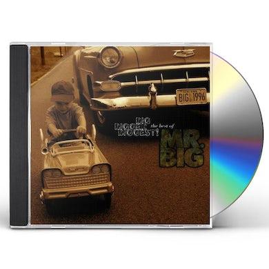 Mr Big BIG BIGGER BIGGEST: BEST OF CD
