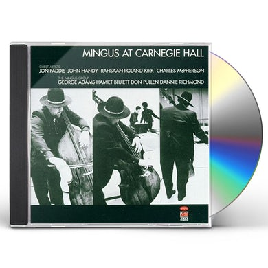 Charles Mingus LIVE AT CARNEGIE HALL CD