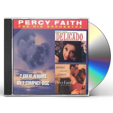 Percy Faith DELICADO / AMOUR AMOR AMORE CD