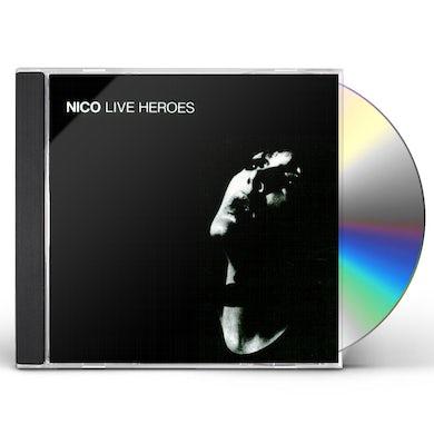 Nico LIVE HEROES CD