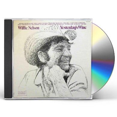 Willie Nelson YESTERDAY'S WINE CD