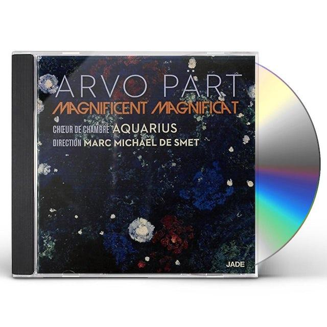 Aquarius ARVO PART: MAGNIFICENT MAGNIFICAT CD