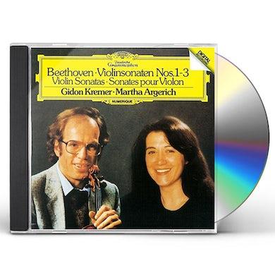 Martha Argerich BEETHOVEN: VIOLIN SONATAS NOS.1-3 CD