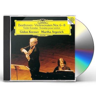 Martha Argerich BEETHOVEN: SONATAS FOR VIOLIN & PI CD