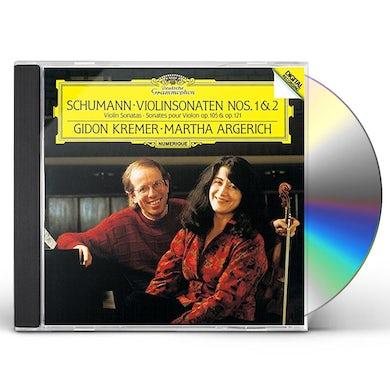 Martha Argerich SCHUMANN: SONATAS NOS.1 & 2 CD