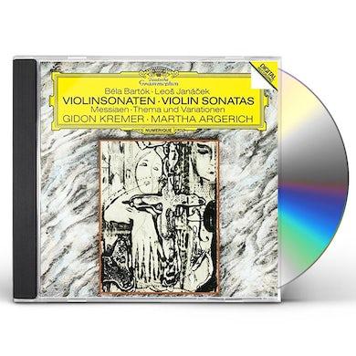 Martha Argerich BARTOK: VIOLIN SONATA NO.1/JANACEK CD
