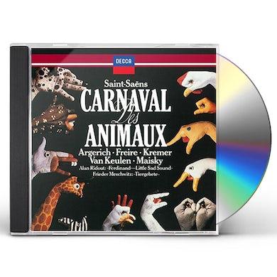 Martha Argerich SAINT-SAENS: LE CARNAVAL DES ANIMAUX CD