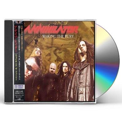 Annihilator WAKING FURY CD