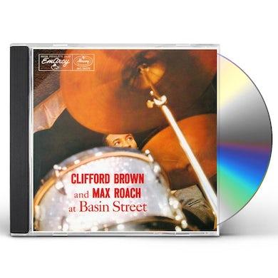CLIFFORD BROWN & MAX ROACH AT BASIN STREET CD