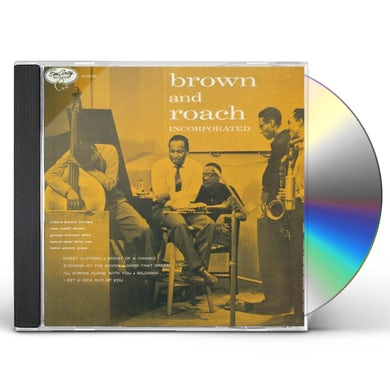 Clifford Brown BROWN & ROACH INCORPORATED CD