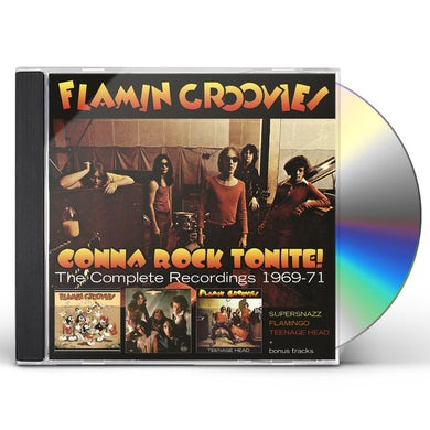 Flamin Groovies GONNA ROCK TONITE: COMPLETE RECORDINGS 1969-1971 CD
