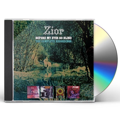 Zior BEFORE MY EYES GO BLIND: COMPLETE RECORDINGS CD