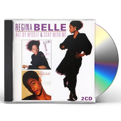 Regina Belle ALL BY MYSELF / STAY WITH ME CD