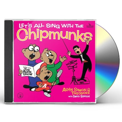 Alvin and the Chipmunks LET'S ALL SING CD