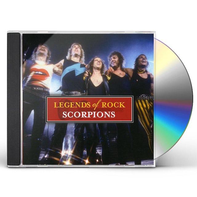 Scorpions LEGENDS OF ROCK CD