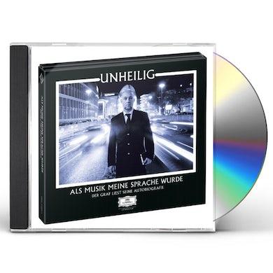 Unheilig ALS MUSIK MEINE SPRACHE WURDE CD