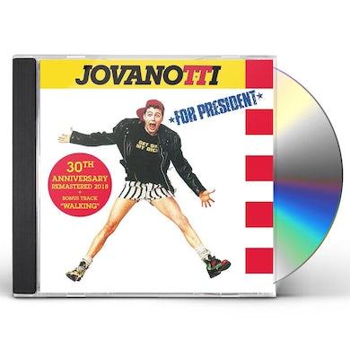 Jovanotti FOR PRESIDENT: 30TH ANNIVERSARY CD