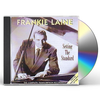 Frankie Laine SETTING THE STANDARD: COMPLETE TRANSCRIPTION CD