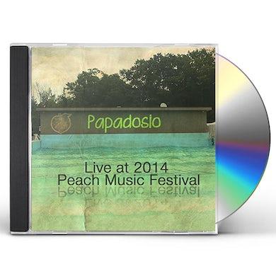 Papadosio LIVE AT PEACH MUSIC FESTIVAL 2014 CD