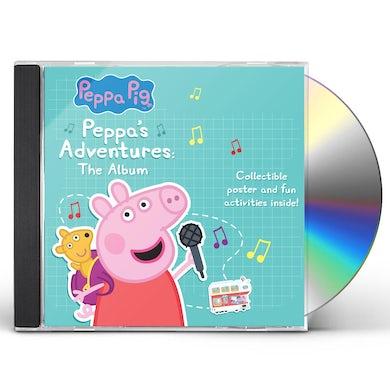 Peppa Pig PEPPA'S ADVENTURES: THE ALBUM CD