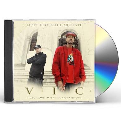 Ruste Juxx & The Arcitype VIC CD