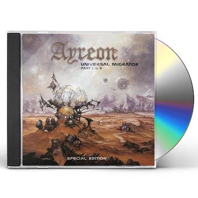 Ayreon UNIVERSAL MIGRATOR PT 1 & 2 CD