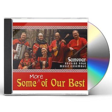 Samovar Russian Folk Music Ensemble SOME MORE OF OUR BEST CD