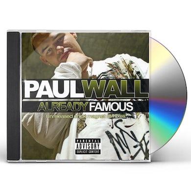 Paul Wall ALREADY FAMOUS CD