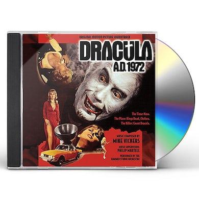 Mike Vickers DRACULA A.D. 1972 - Original Soundtrack CD