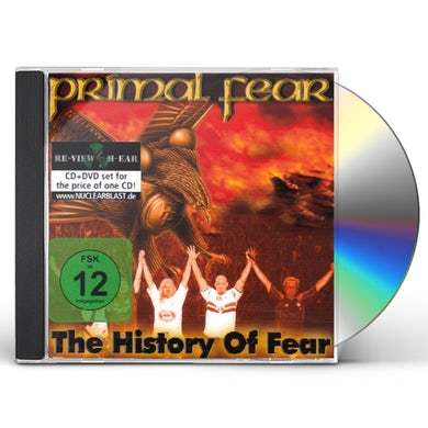 Primal Fear HISTORY OF FEAR CD