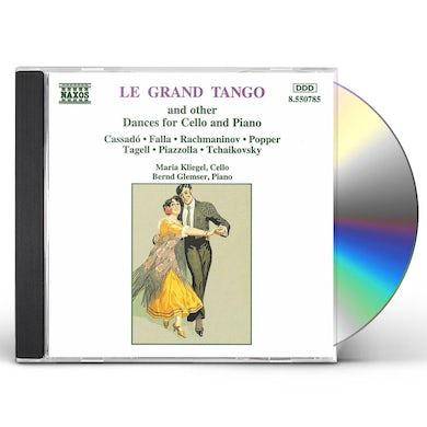 Astor Piazzolla LE GRAND TANGO DANCES CD