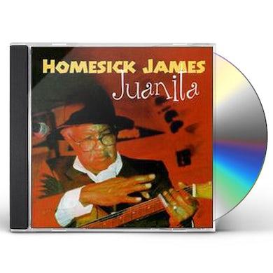 Homesick James JUANITA CD