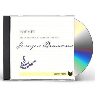 Georges Brassens POEMES MIS EN MUSIQUE ET INTERPRETES PAR BRASSENS CD