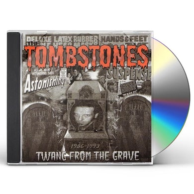 Tombstones TWANG FROM THE GRAVE CD