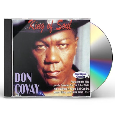 Don Covay KING OF SOUL CD
