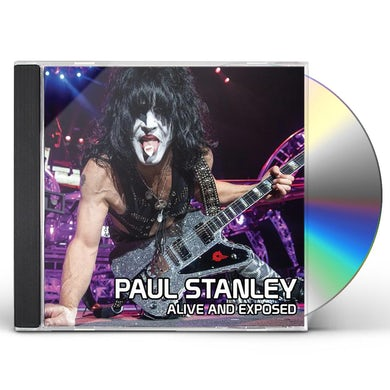Paul Stanley ALIVE & EXPOSED CD