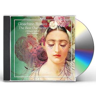 Gioachino Rossini, I Virtuosi Italiani, Marc Andreae OVERTURES CD