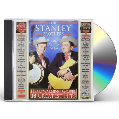 Stanley Brothers HEARTWARMING GOSPEL: 18 GREATEST HITS CD