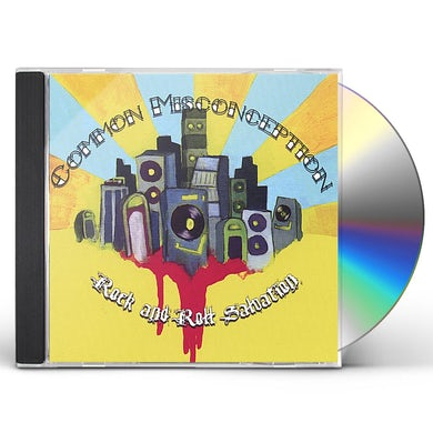 Common Misconception ROCK & ROLL SALVATION CD