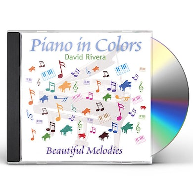 David Rivera PIANO IN COLORS-BEAUTIFUL MELODIES CD