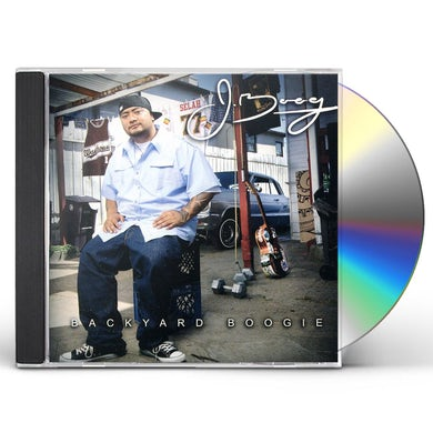 J BOOG BACKYARD BOOGIE CD