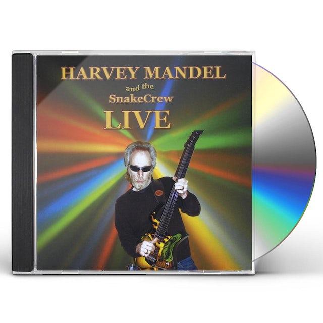 Harvey Mandel LIVE AT BISCUIT & BLUES CD