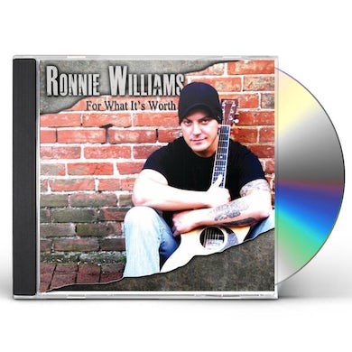 Ronnie Williams FOR WHAT ITS WORTH EP CD