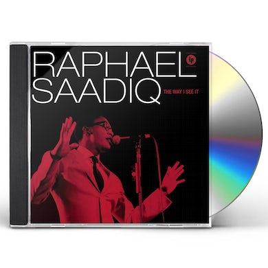 Raphael Saadiq WAY I SEE IT CD