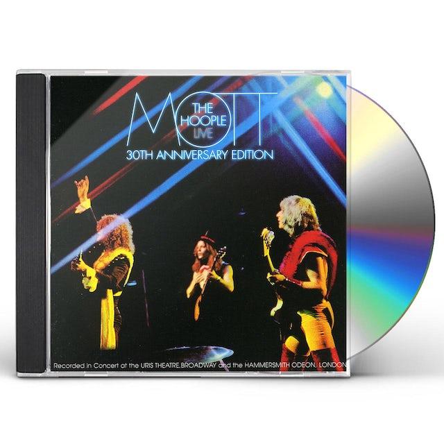 Mott The Hoople LIVE: 30TH ANNIVERSARY EDITION CD
