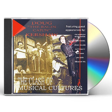 Doug Kershaw CLASH OF THE MUSICIAL CULTURES CD
